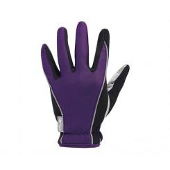 دستکش کامل لیو مشکی بنفش