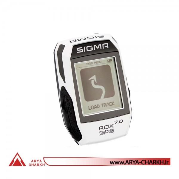 كیلومترشمار دوچرخه سیگما مدل SIGMA ROX 7.0 GPS WHITE