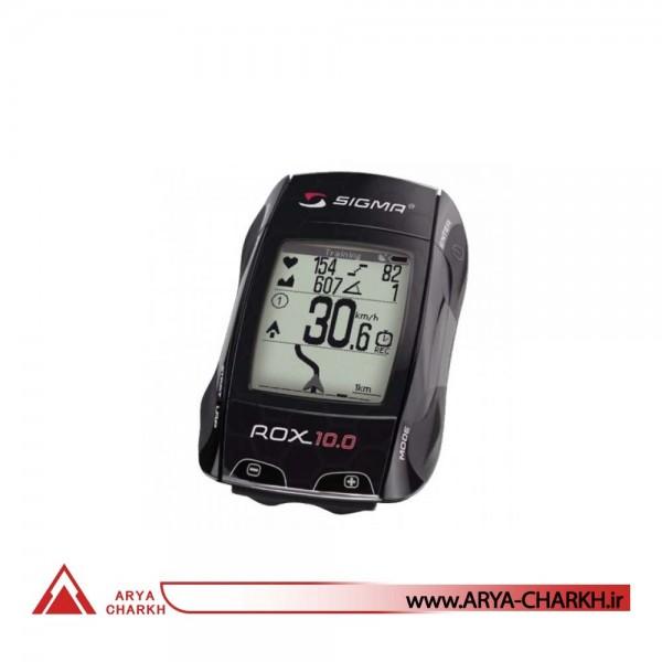 كیلومترشمار دوچرخه سیگما مدل SIGMA ROX 10.0 GPS BLACK SET