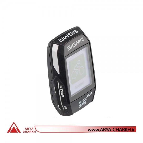 كیلومترشمار دوچرخه سیگما مدل SIGMA ROX 11.0 GPS BLACK SET