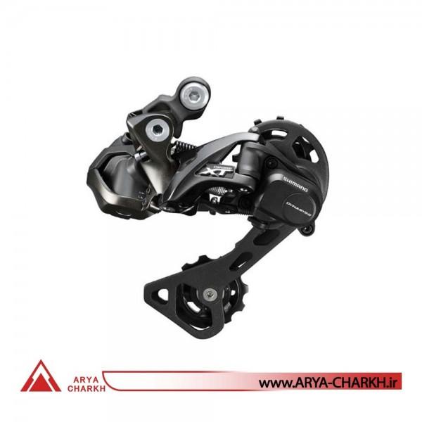شانژمان الکتریکی دوچرخه شیمانو مدل Shimano RD-M8050-GS, DEORE XT Di2,11-SP