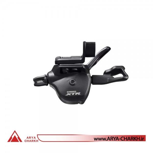 دسته دنده کتی چپ شیمانو مدل Shimano XTR,SL-M9000 LEFT 2/3-SP