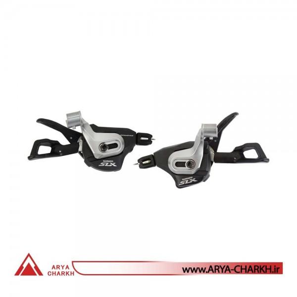 دسته دنده کتی شیمانو مدل Shimano SL-M7000-B-I, SLX, BL(I-Spec B),2/3X11-S