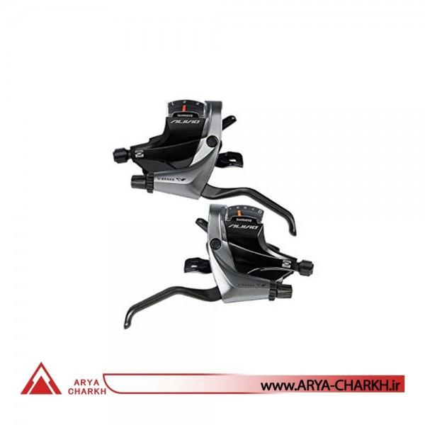 دسته دنده کتی چپ شیمانو مدل Shimano ALIVIO, ST-M4000 3-SP