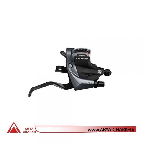 دسته دنده کتی شیمانو مدل Shimano ALIVIO, ST-M4000 9-SP