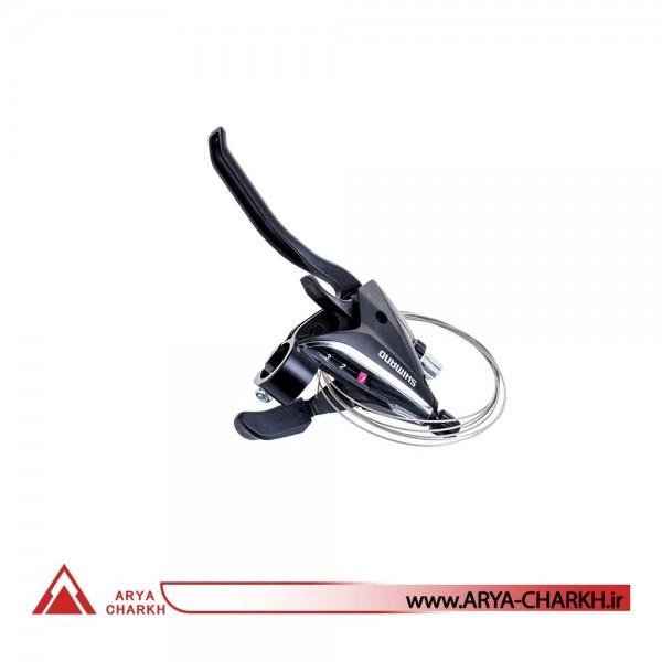 دسته دنده کتی چپ شیمانو مدل Shimano STEF65-LEFT 3-SP