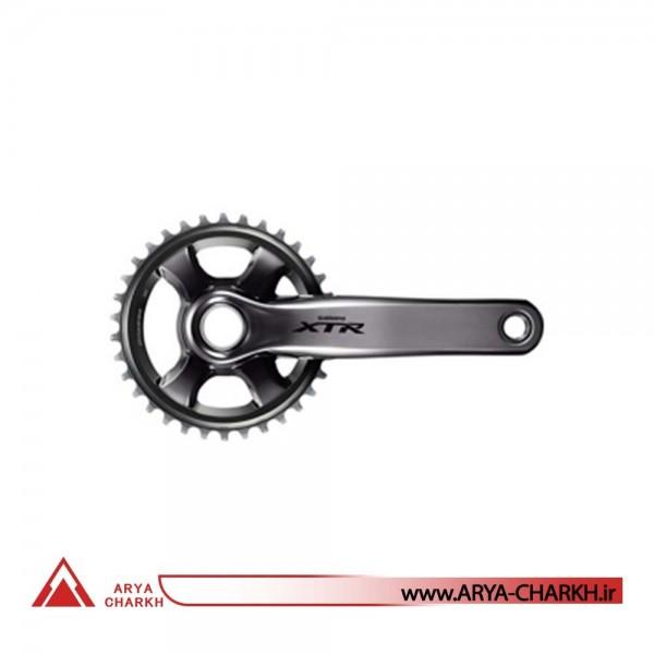 طبق قامه بدون سینی دوچرخه شیمانو مدل Shimano FC-M9020-B1 XTR FOR REAR 11-S 175M