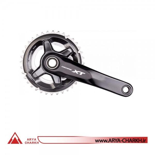 طبق قامه دوچرخه شیمانو مدل Shimano FC-M8000-2, 11SP, 175M, 34X24T
