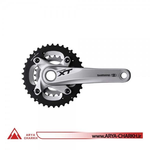 طبق قامه دوچرخه شیمانو مدل Shimano FC-M785-L ,10SP, 175M , 38X24T