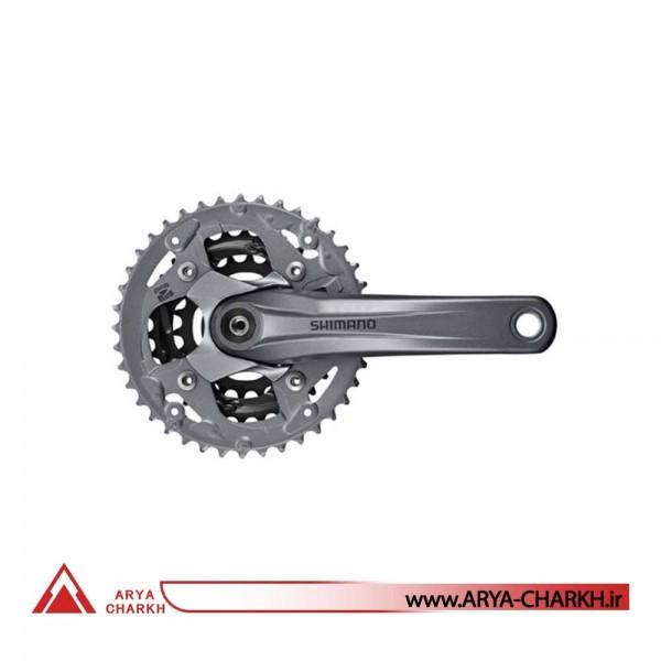 طبق قامه دوچرخه شیمانو مدل Shimano FC-M4000 9SP-CTALINK175M 40X30X22
