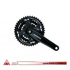 طبق قامه دوچرخه شیمانو مدل Shimano FC-M311-L 175M 42X32X22T BLACK