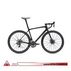 دوچرخه کورسی جاینت مدل تی سی آر ادونسد اس ال GIANT TCR ADVANCED SL 0 DISC RED 2020