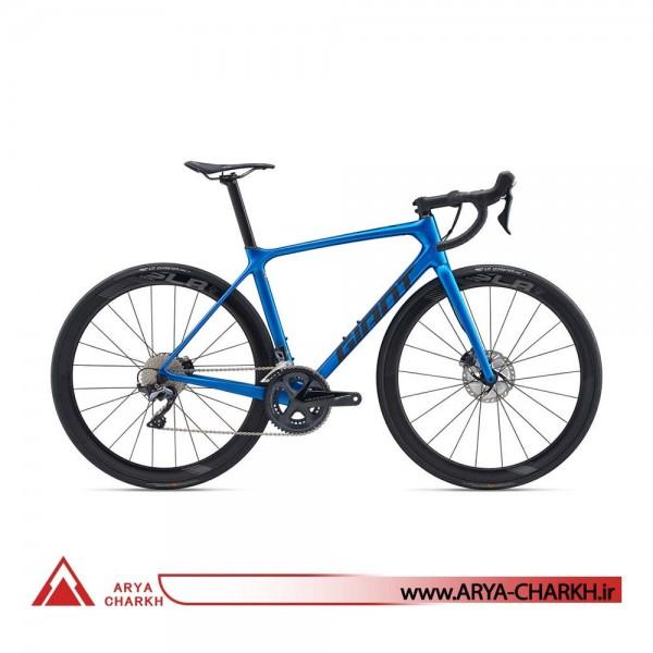 دوچرخه جاینت مدل تی سی آر ادونسد پرو تو دیسک کی او ام GIANT TCR ADVANCED PRO 2 DISC KOM 2020