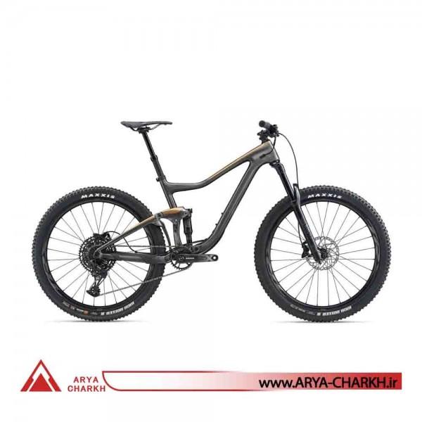 دوچرخه کوهستان دو کمک کربن 27.5 جاینت مدل (GIANT TRANCE ADVANCED 2(2020