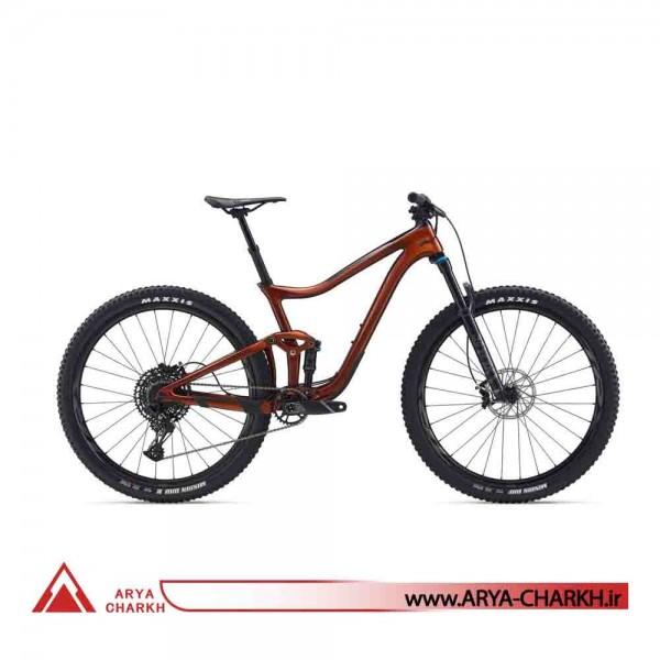دوچرخه کوهستان دو کمک کربن 29 جاینت مدل (GIANT TRANCE ADVANCED PRO 29 2 (2020
