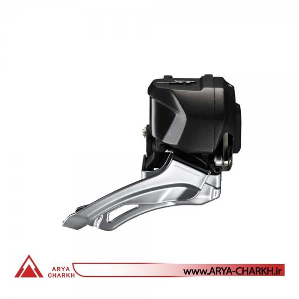 طبق عوض کن دوچرخه شیمانو مدل Shimano FD-M8070,DEORE XT Di2,2X11, 34/38T