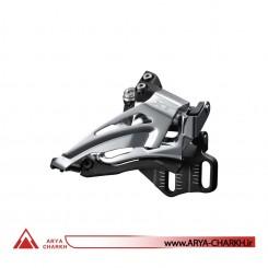 طبق عوض کن دوچرخه شیمانو مدل Shimano FD-M8025-E, DEORE XT, FOR 2X11