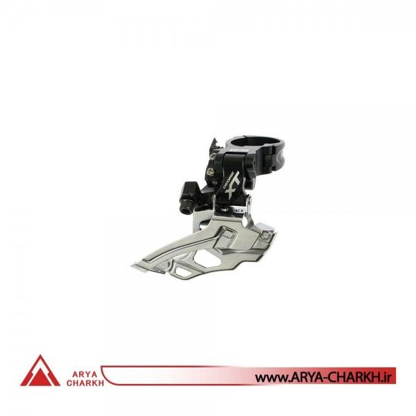 طبق عوض کن دوچرخه شیمانو مدل Shimano XT FD-M786-L,DOWN-SWING 34.9M 44-38T