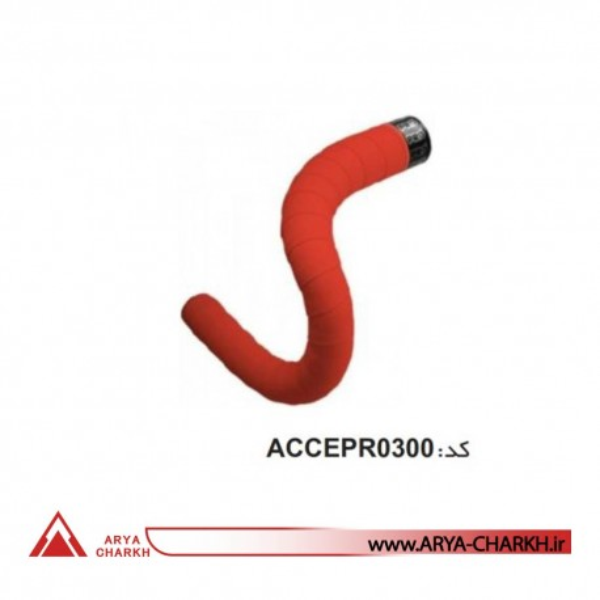 نوار فرمان قرمز سيليکوني دوچرخه برند پرو ACCEPR0300