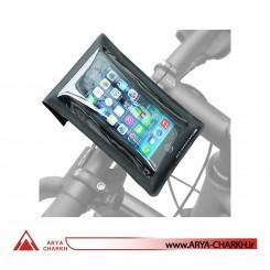 نگهدارنده تلفن همراه دوچرخه برند اس کی اس مدل SKS SMART BOY mount for smart phones