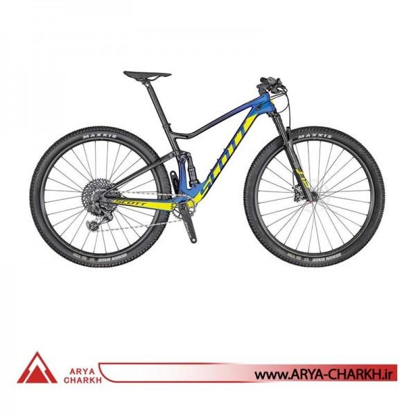 دوچرخه دوکمک کوهستان اسکات سایز 29 مدل SCOTT SPARK RC 900 TEAM ISSUE AXS BIKE