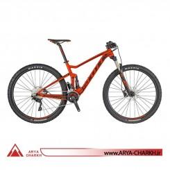 دوچرخه دوکمک کوهستان اسکات اسپارک سایز 29 مدل SCOTT SPARK RC 900 TEAM RED BIKE