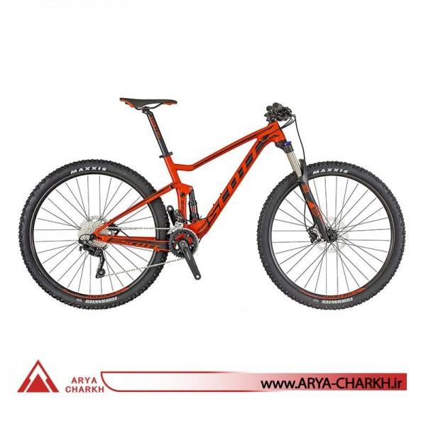 دوچرخه دوکمک کوهستان اسکات سایز 29 مدل SCOTT SPARK RC 900 TEAM RED BIKE