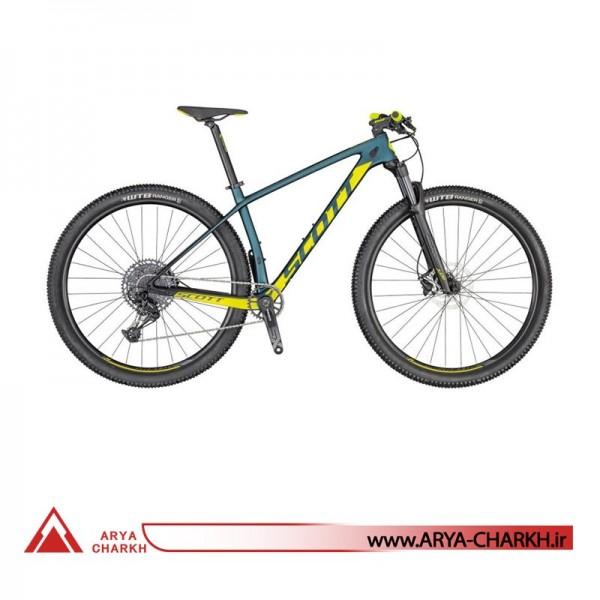دوچرخه کوهستان اسکات سایز 26 مدل SCOTT SCALE 940 COBALT/YELLOW BIKE