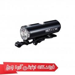 چراغ جلو شارژی دوچرخه برند کت آی (CAT EYE)مدل VOLT200XC