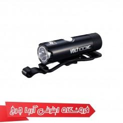 چراغ جلو شارژی دوچرخه برند کت آی (CAT EYE) مدل VOLT100XC
