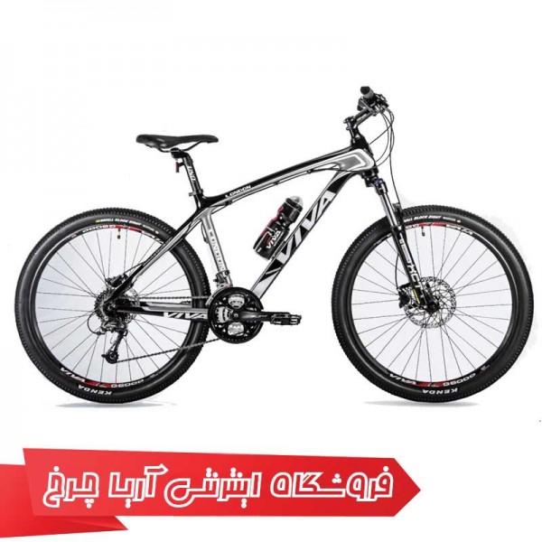 دوچرخه کوهستان دومنظوره کربن ویوا سایز 26 مدل VIVA London