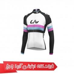 لباس دوچرخه سواری بانوان لیو مدل رو ریس دی ال/اس جرسی | Liv Rev Race day L/S Jersey