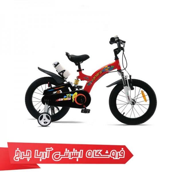 دوچرخه-بچه-گانه-قناری-سایز-16-مدل-فلاینگ-بیر-CANARY-Flying-Bear-16