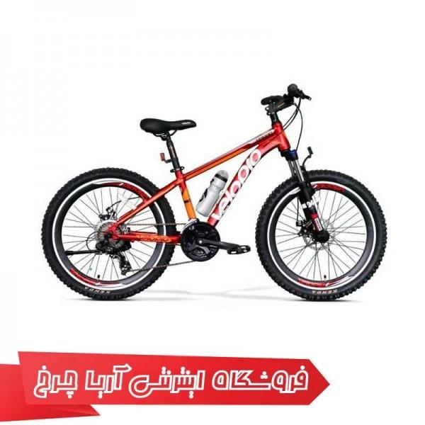 دوچرخه کوهستان ولو پرو سایز 24 مدل VELOPRO 24 VP-1000-D