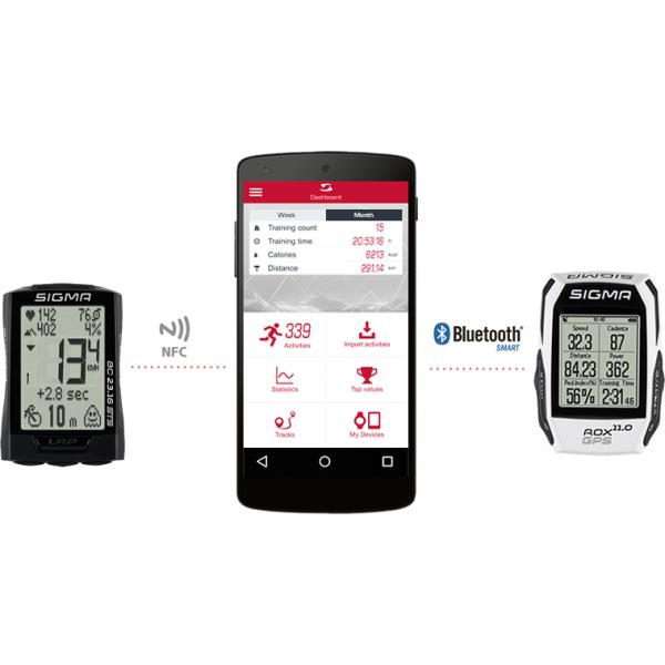 ساعت سیگما مدلSIGMA ROX 7.0 GPS