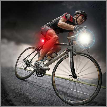 چراغ دوچرخه سواری